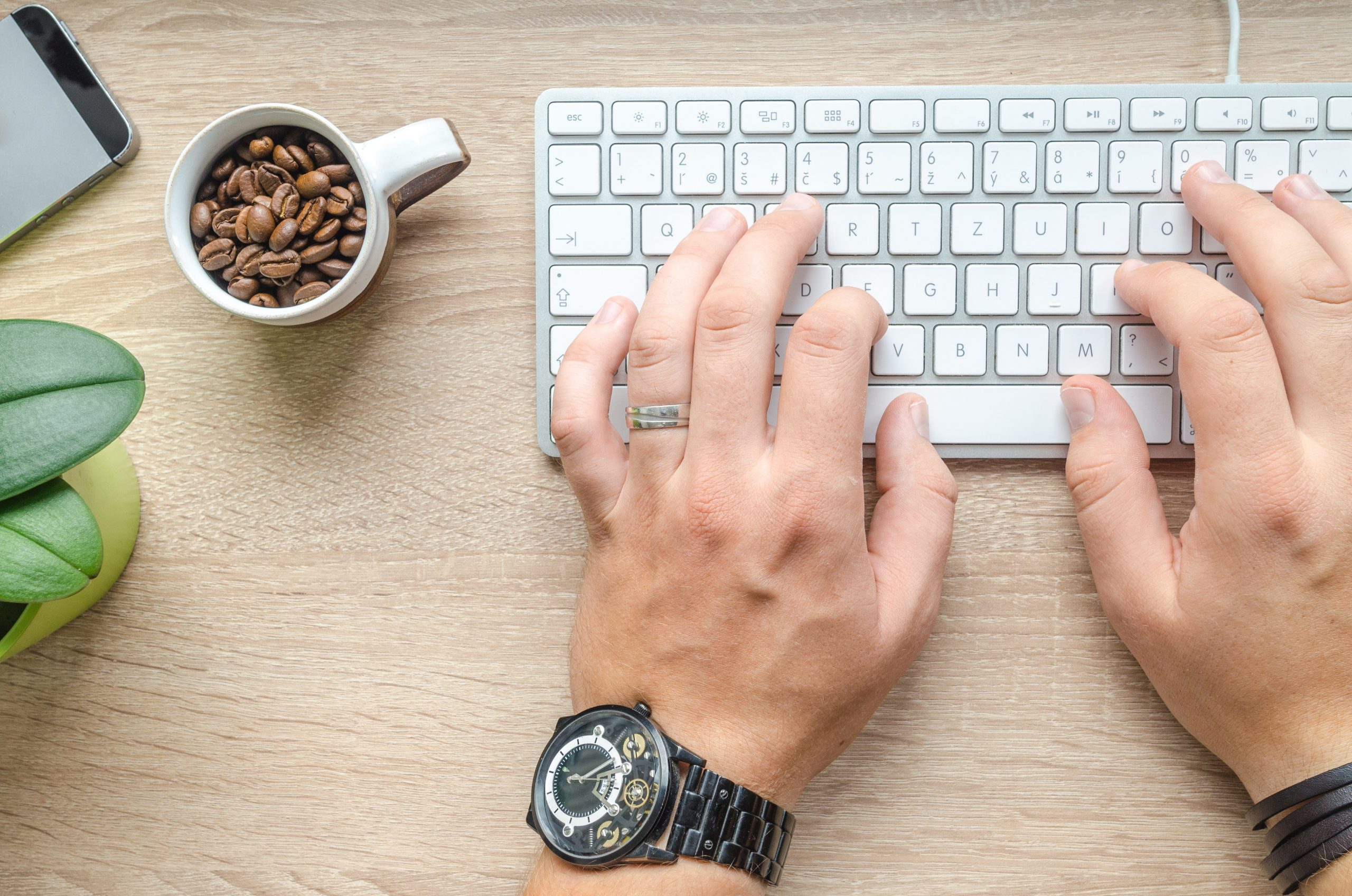 How do you break bad typing habits?